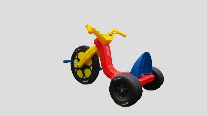 BigWheel Tricycle 3D Model