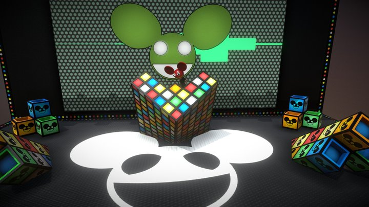 Deadmau5 - Audio Controlled Equalizer 3D Model
