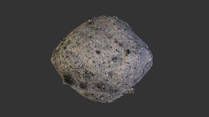 OSIRIS-Rex Asteroid Bennu 3D Model 3D Model