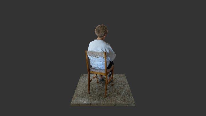 Grandma Scan 3D Model