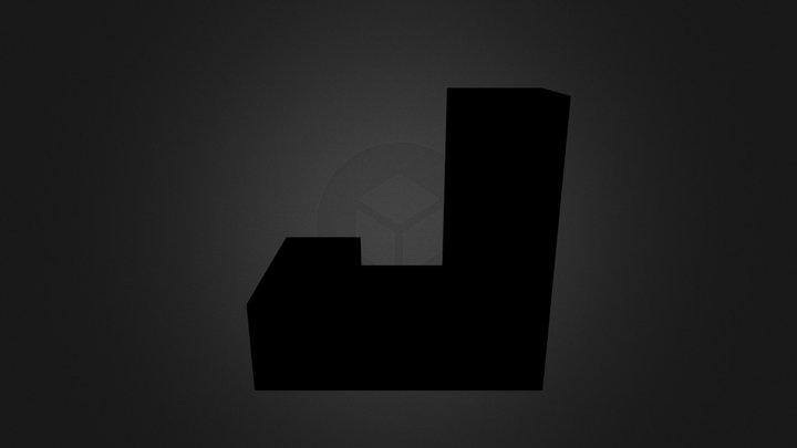 Puzzle Cube Green Part Sabrina Illian 3D Model