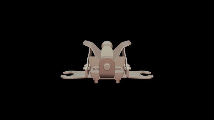 Extended Short- Ball Pin- Assembly 3D Model
