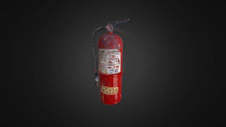 Fire Extinguisher_pbr 3D Model