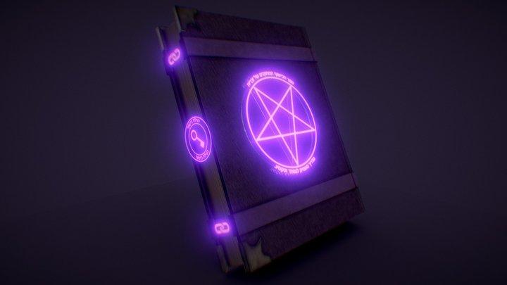 Zechariah's Advanced Book of Witchcraft 3D Model
