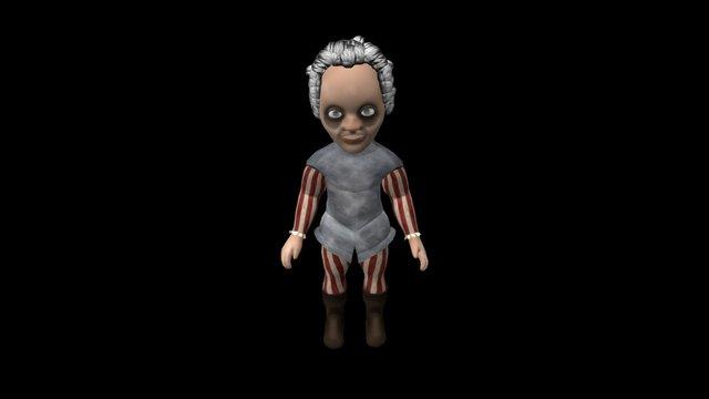 Dead Men 3D Model