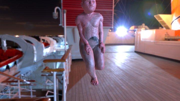 creepy 3D Model