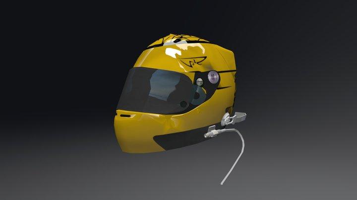 Fenavo Games Racing - Adriano Dino Helmet 3D Model