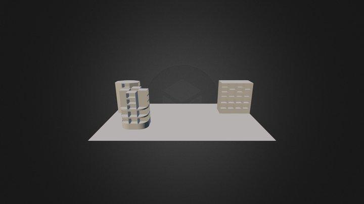 Cubes Rnd Crnrs 3D Model