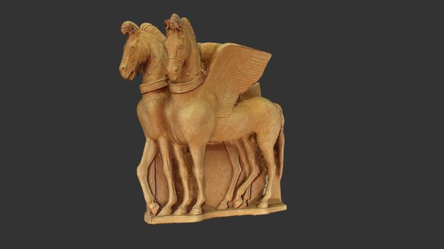 Cavalli alati (copia) - Tarquinia 3D Model
