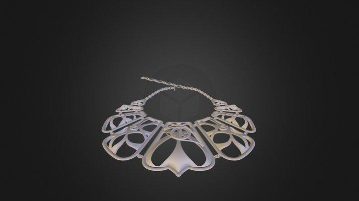 Dragon Eyes Cleopatra Necklace 3D Model