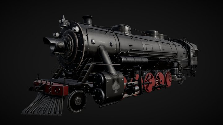 Crazy Train - Orgazmatron 3D Model