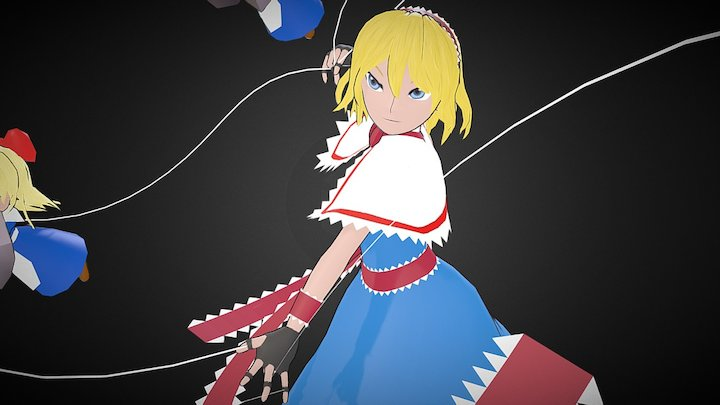 Alice Margatroid 3D Model