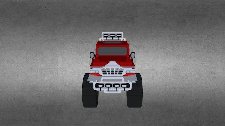 Monster Truck 04 3D Model