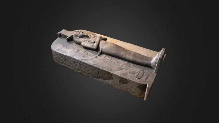 Ramesses III sarcophagus lid 3D Model