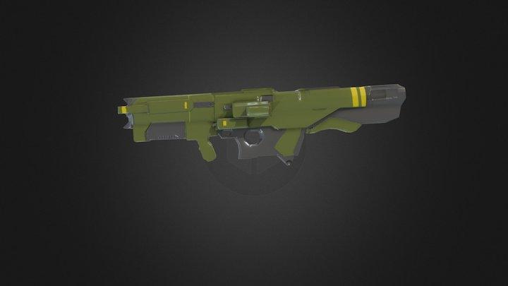 DooM Rocket launcher 3D Model