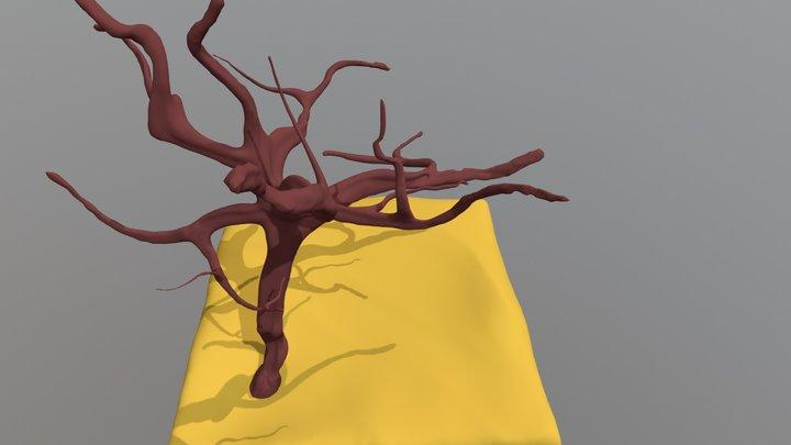 Day 4: Desert 3D Model