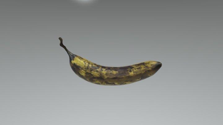 Banana Ripe 3D Model