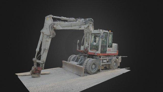 Hydraulic digger 3D Model