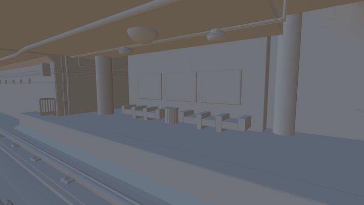 Train Station Update 01 3D Model