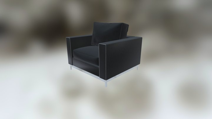 Comfortable Chair 3D Model