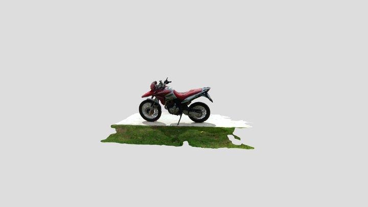Moto Simplified 3d Mesh 3D Model