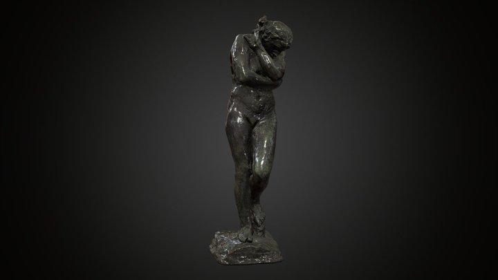 Plastic »EVA« Auguste Rodin (1881) Weimar 3D Model