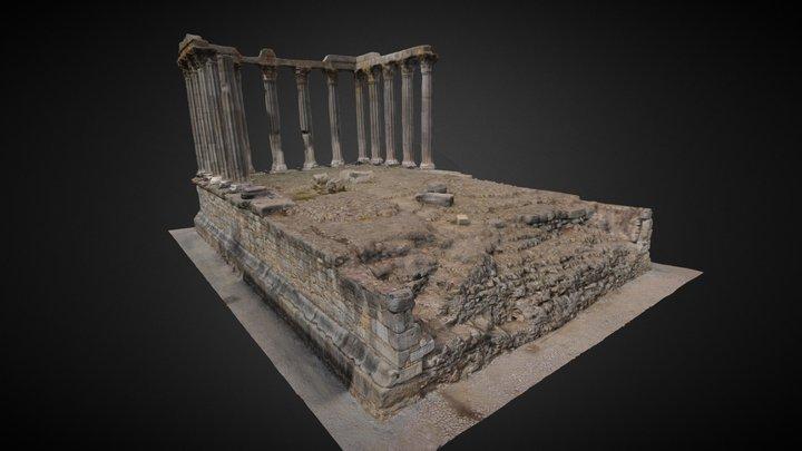 Templo Romano de Évora 3D Model