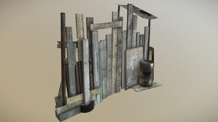 Raider Clutter 10 3D Model