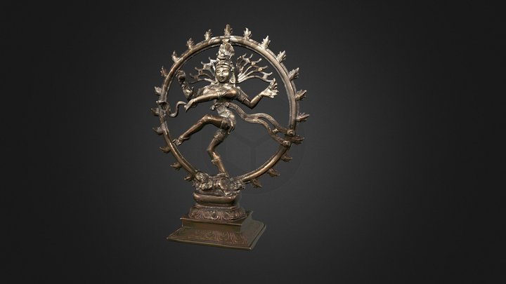 Danza de Shiva 3D Model