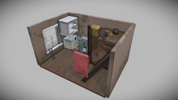 Day1:Покинутый Дом 3D Model
