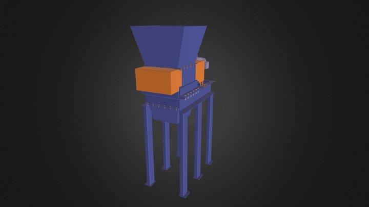 Universal Shredder US 11 3D Model