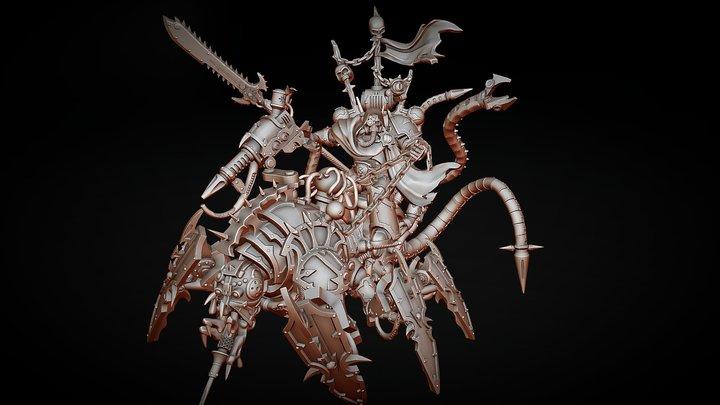 Chaos Discordant Lord 3D Model