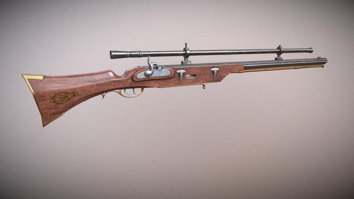 Musket 3D Model