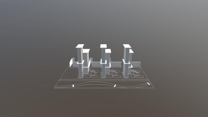 Район 3D Model