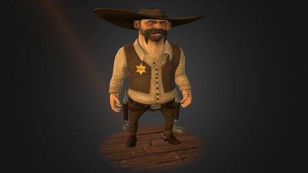 The Sheriff 3D Model