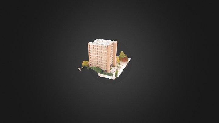 UMBC Admin Building 3D Model