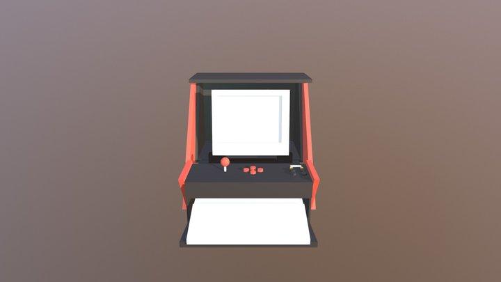 jacki amiga machine 2 3D Model