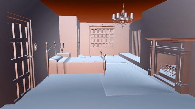 Lara's Room 3D Model