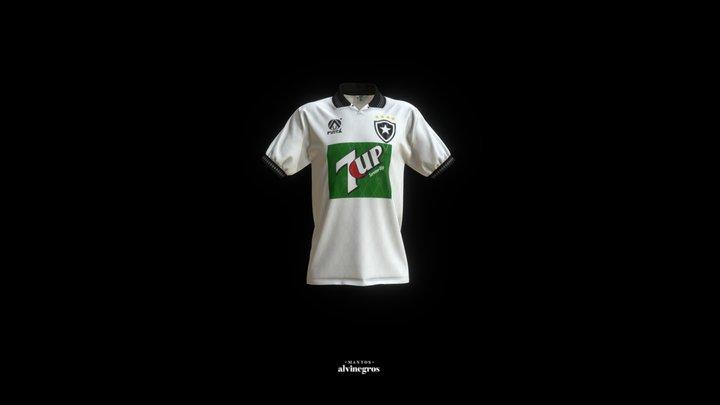 Botafogo 1995 - Camisa Branca 3D Model