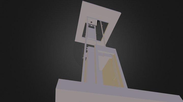 ascensor por ruben buchardo 3D Model