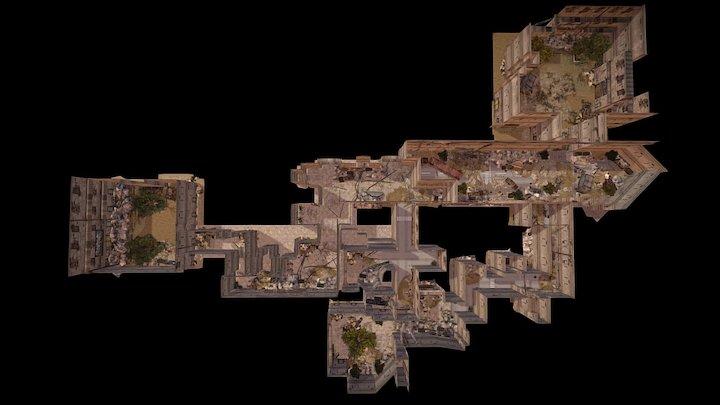 Broken city 3D Model