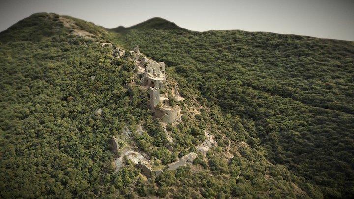Montfort Castel - מבצר המוֹנפוֹר 3D Model