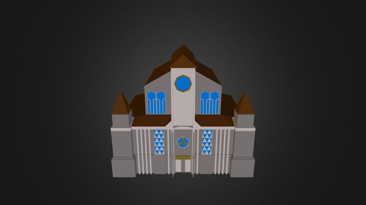 Church All In One 3D Model