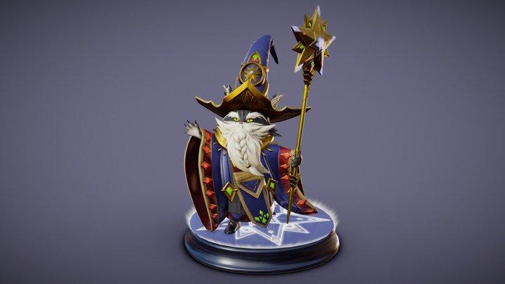 Merlin 3D Model