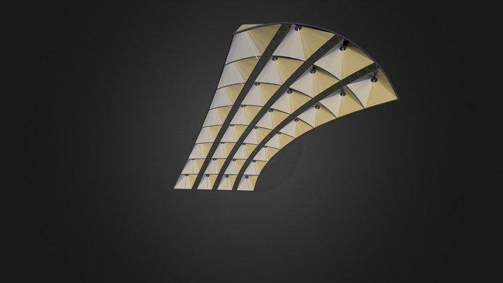 Tensostruttura Palazzo Sogni 3D Model