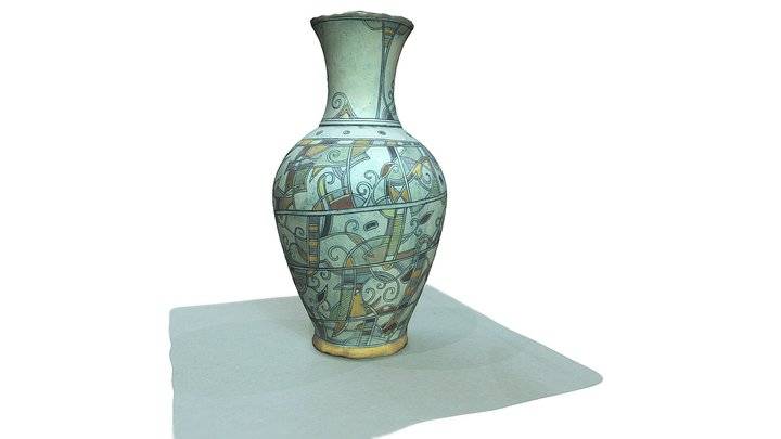 Handmade Vase - by Svetlozar Parmakov 3D Model