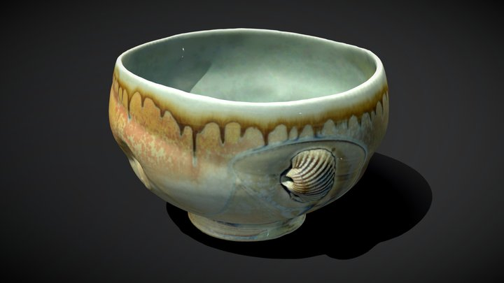 A ceramic vessel by Tom Coleman 3D Model