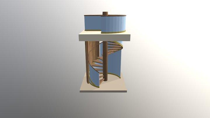 Stair Fbx 3D Model