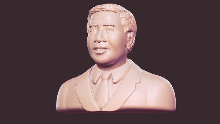 The Guy, ex-president of VNCH - Ngô Đình Diệm 3D Model