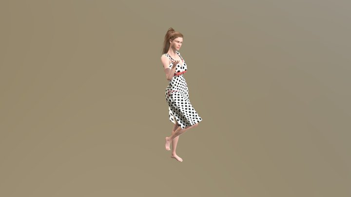 Character Lyna 3D Model